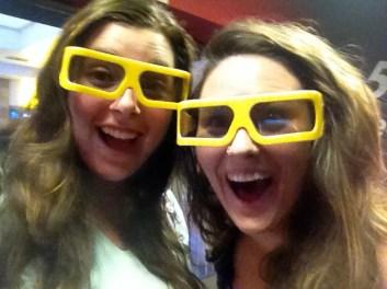 5 D movie time!