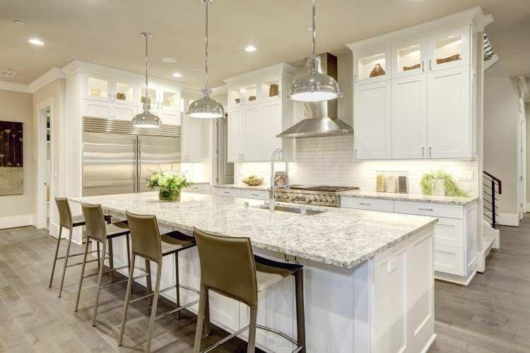 Upsizing kitchen space