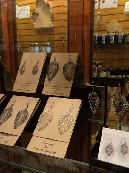 Kate Wilcox-Leigh Leaf Lace Michigan Market Williamston