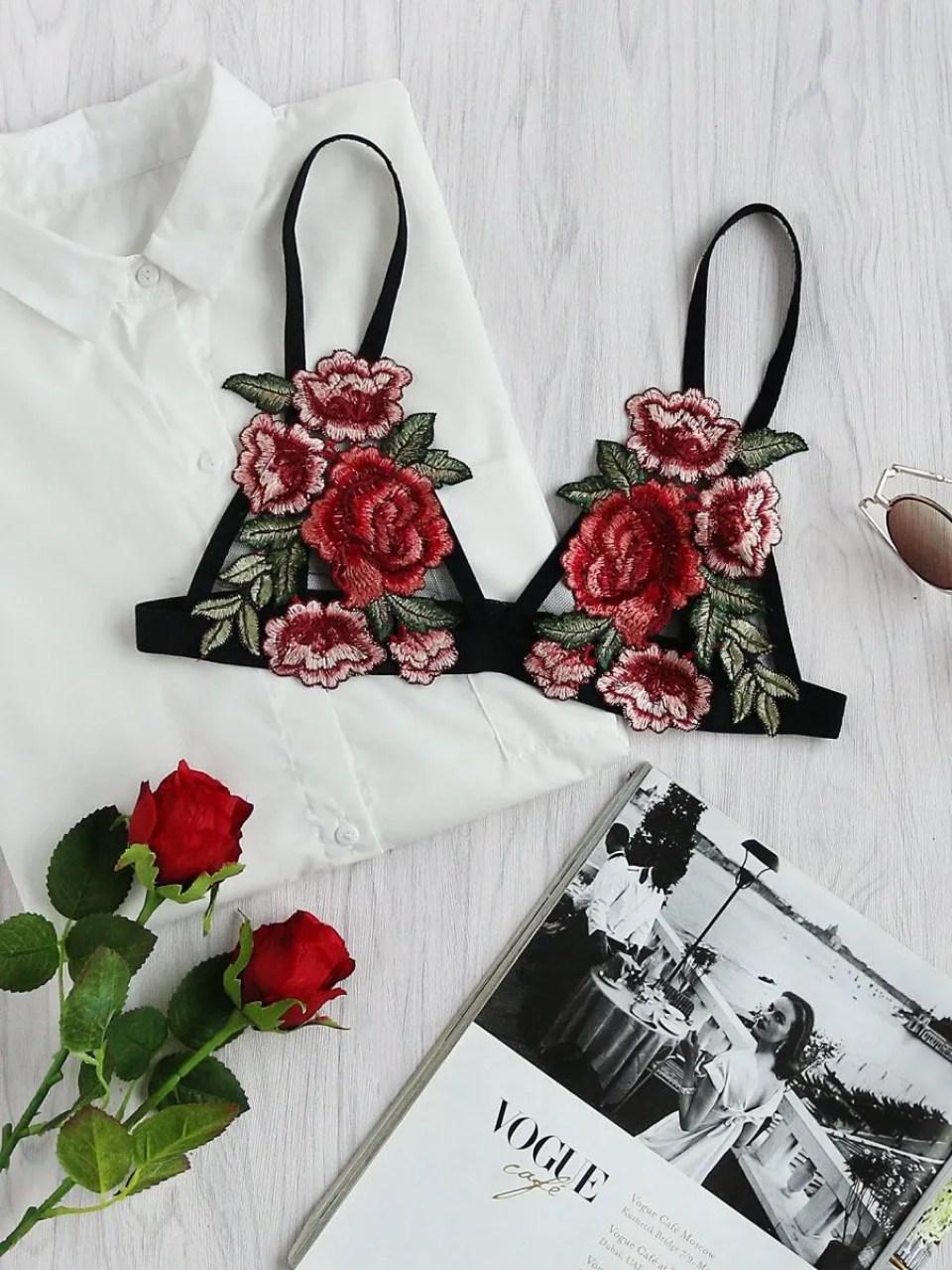 Rose Bralette