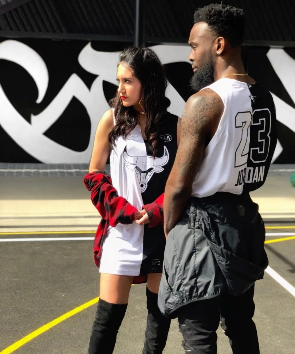 Two-toned deconstructed authentic MJ jerseys - www.kateyblaire.com