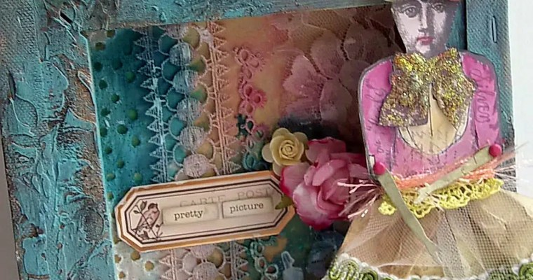 Paper Doll Shadowbox