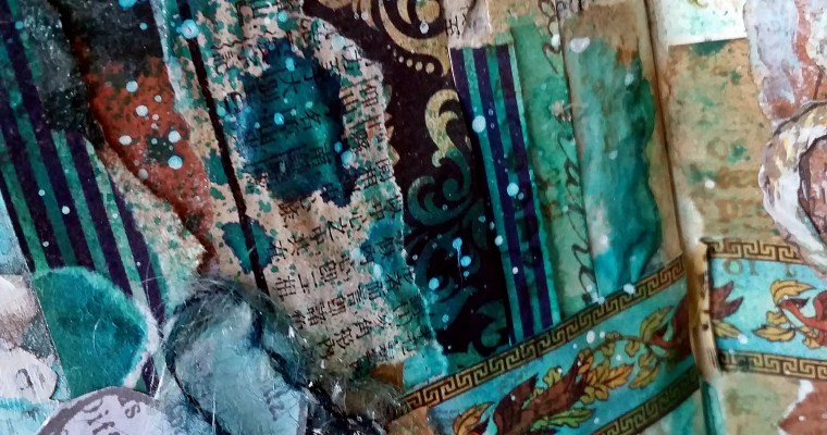 Spectacular Tea for Me and You: A Delightful Art Journal Layout