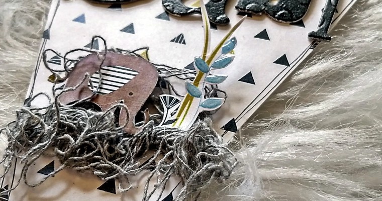 It's a Baby: Mixed Media Bunting