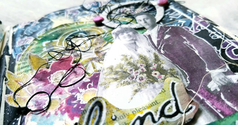 Find the Magic: Mixed Media Art Journal