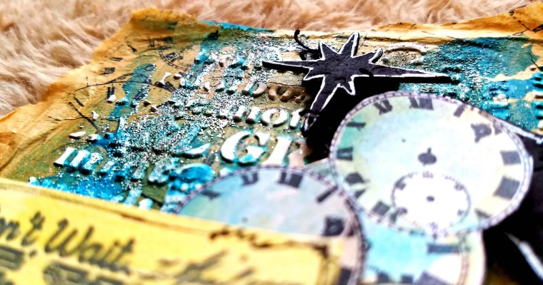 Paint that Crate : Guest Designer for PaperArtsy