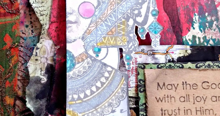 Journal Your Prayers: Mixed Media Journal
