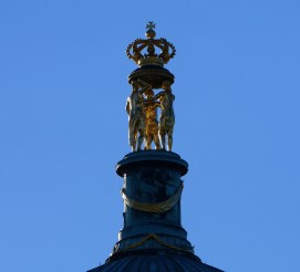 Detail on top of Neue Palais
