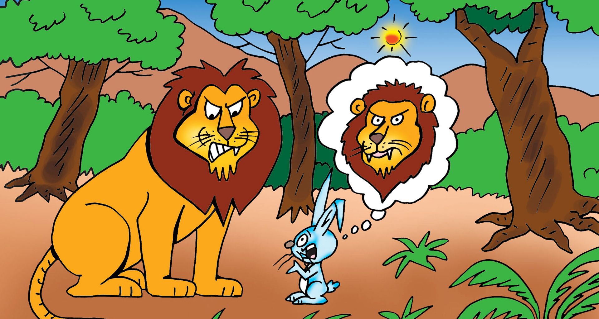 The Lion And The Hare