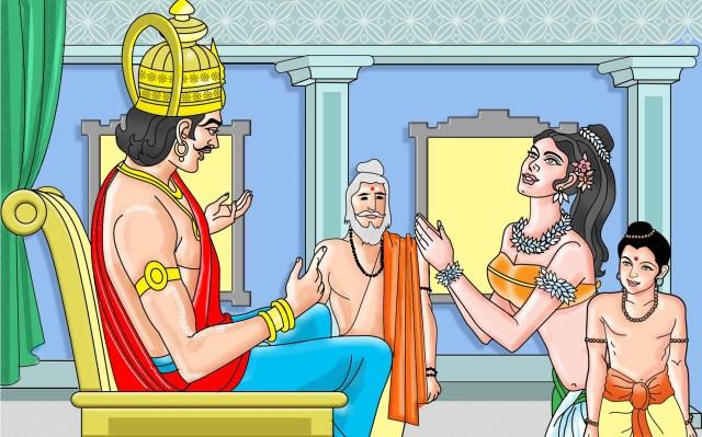 Shakuntala: A love that went through a test of fire - Katha Kids
