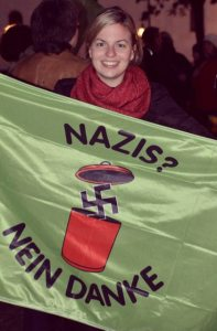 Engagiert gegen Rechtsextremismus: Katharina Schulze, MdL