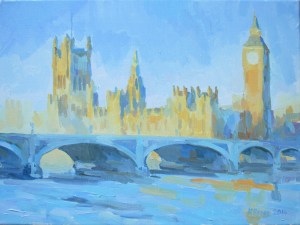 Westminster painting