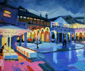 Covent Garden oil painting