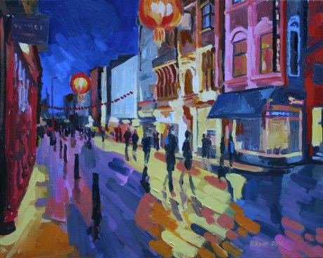 Chinatown, London, 50x40cm, £800 framed