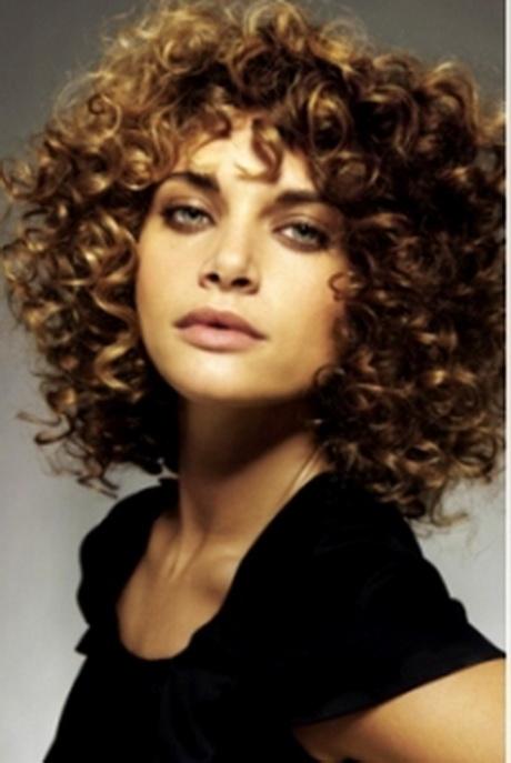 Permanent Krullen Kort Haar
