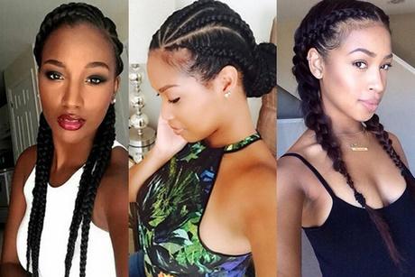 Afrikaanse Haar Modellen