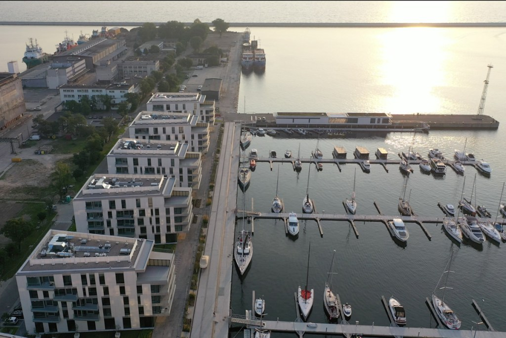 Nabrzeże Dalmoru i Marina Yacht Park
