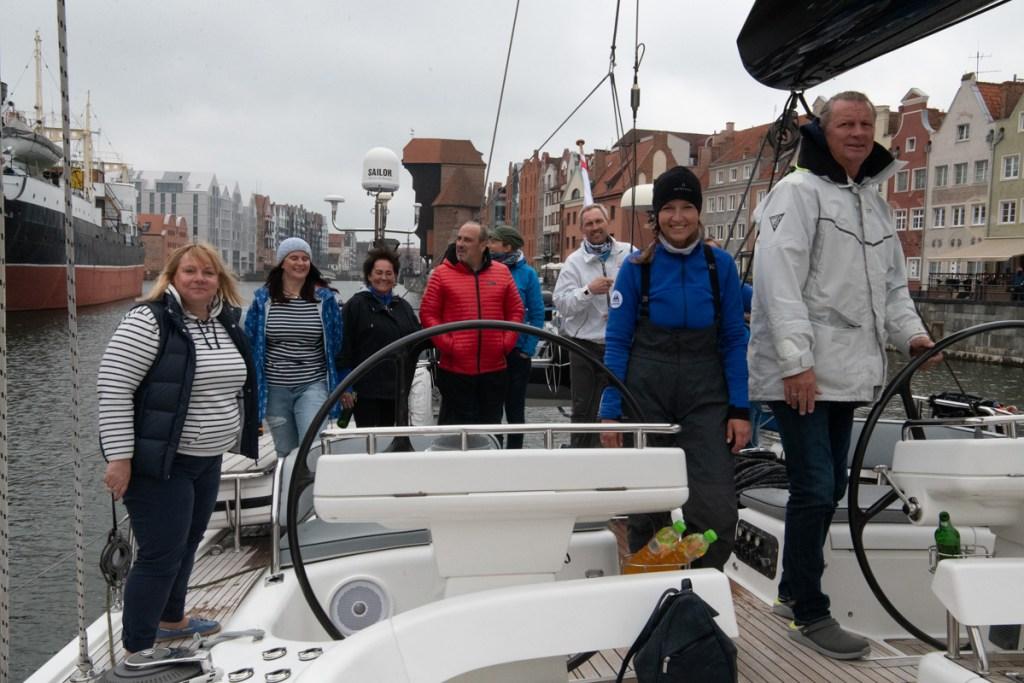 Płyniemy z Gdańska do Gdyni 2020.05.26