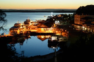 Strahan by night