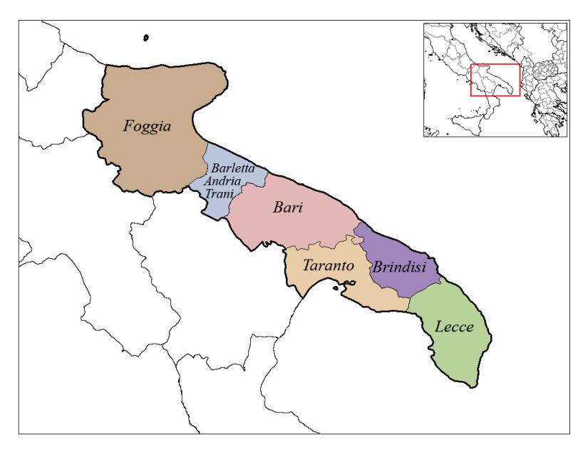 Apulia_Provinces