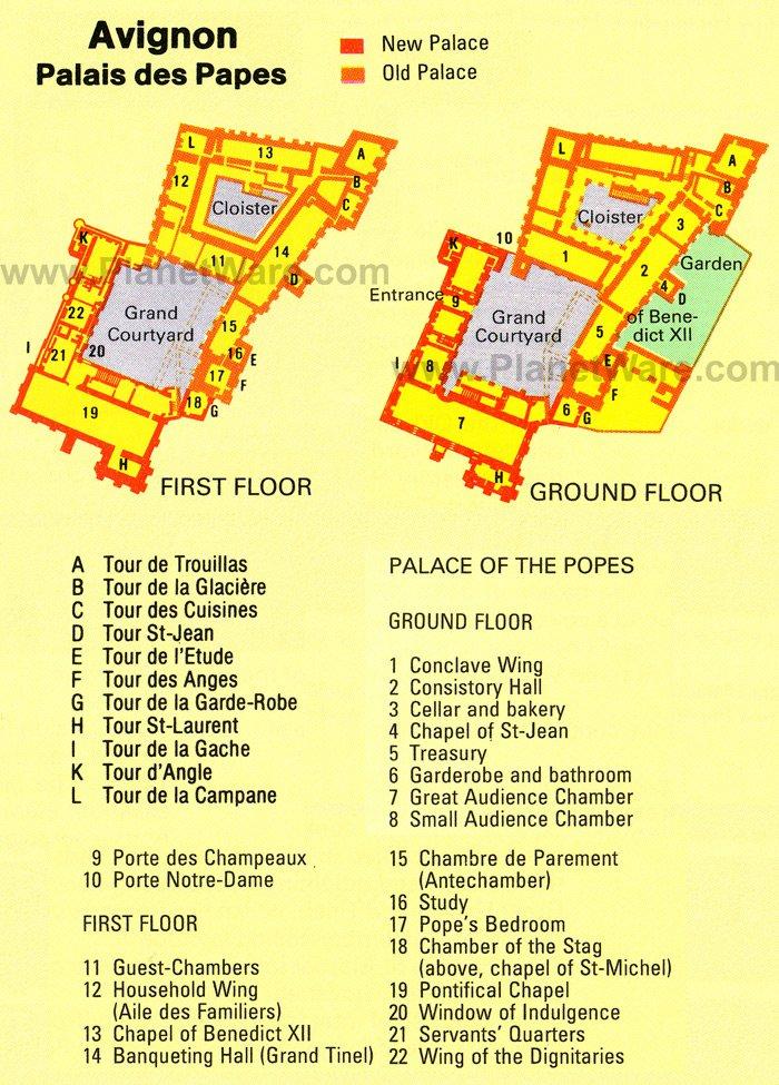 avignon-palais-des-papes-ground-floor-map