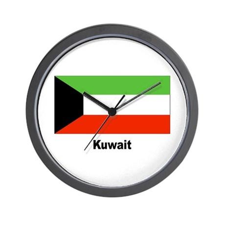 kuwait_kuwaiti_flag_wall_clock