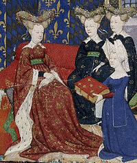 200px-christine_de_pisan_and_queen_isabeau_detail