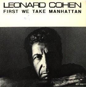 Leonard Cohen First we Take Manhattan single