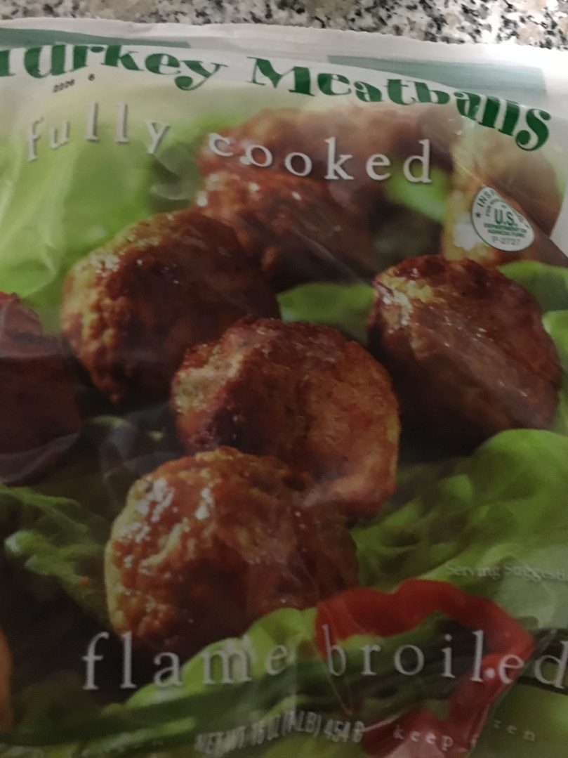 frozen turkey meatballs