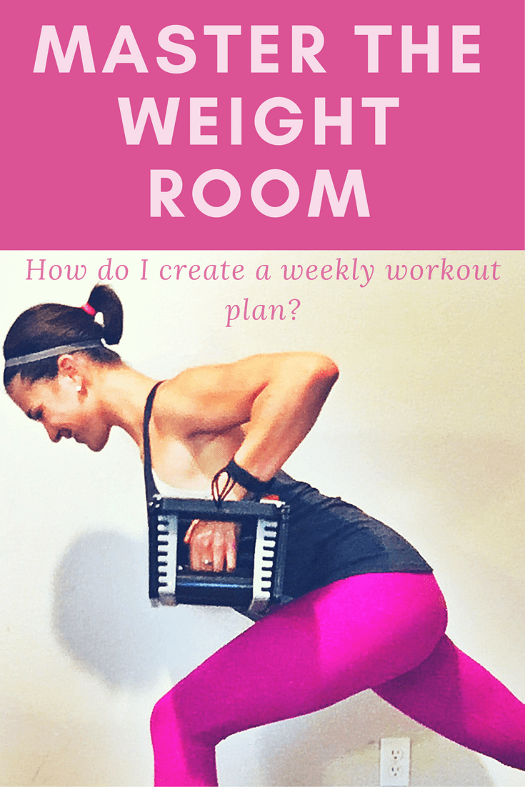 This is how I program weekly workout plans for my clients to help them get results.