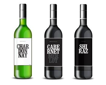 Wine label design for The Wine Emporium Fortitude Valley