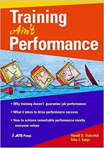 Training Ain't Performance cover