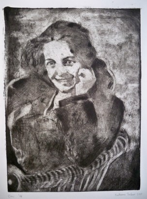 Omi 6x9 Itaglio Print March 2010