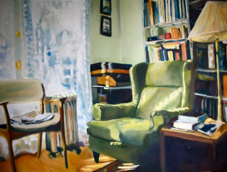 Living Room Oil on Canvas 44x58 2011 2011