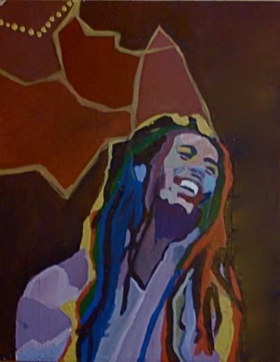 Marley Acrylic on Board