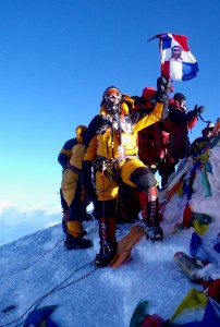 Everest at the Summit