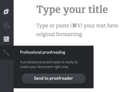 Professional Proofreading Services
