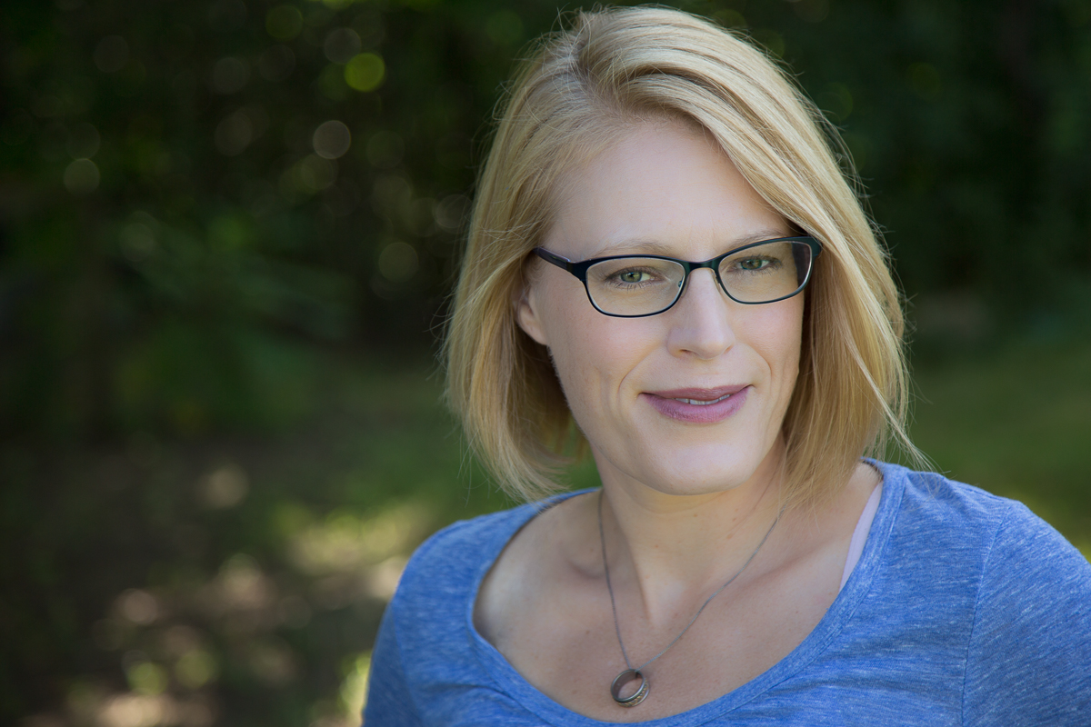 Head shot of writer Katherine Karch
