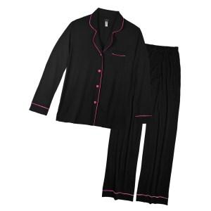 Cosabella Bella Long Sleeve Top, Pant PJ Set