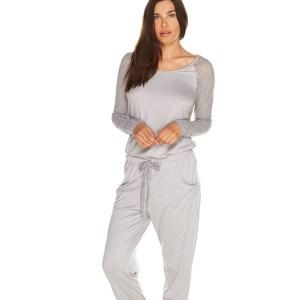 Arizona Long Sleeve top, Dove Grey