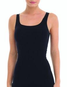 ballet body tank, black