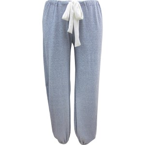 Eberjey Heather Cropped Pant, Blue Shadow