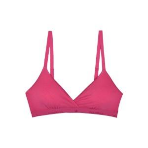 Cosabella Talco Logo Soft Bra, Miami Pink