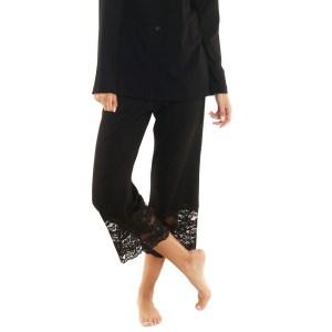 Ravello Cropped Pants, Black