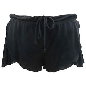 Rosette Shorts, Black