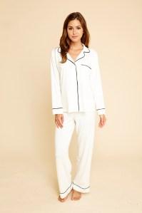 Gisele Long Sleeve PJ Set, Ivory