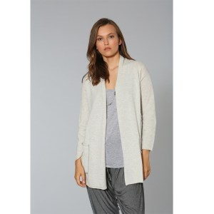 LABEL +thread, Luxe Pocket Cardigan, Ash