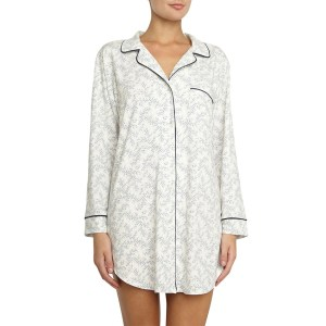 Eberjey Sleep Chic Sleepshirt, Midnight Blossom