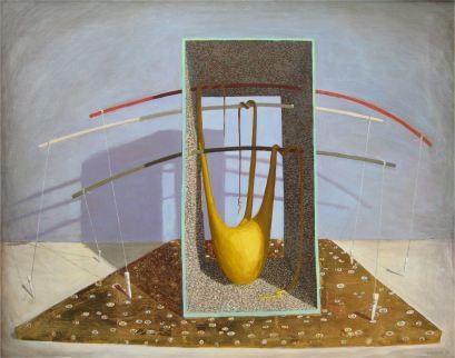 2008, Oil painting on canvas, 100cm x 80cm