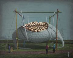 2014, Oil on canvas,56cm x 46cm